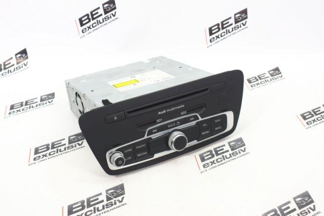 Orig. Audi Q3 8U 2.0 TFSI Navegador Mmi Multimedia Principal Unidad 8U0035666A