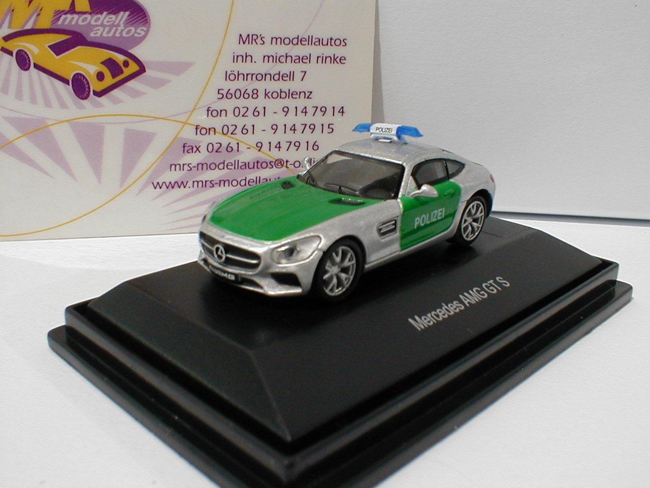 Schuco 26284-MERCEDES-BENZ AMG AMG AMG GT S POLIZIA IN