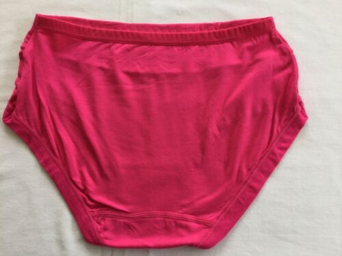 Moisture Absorbing Breathable Silky Bamboo Comfy Knickers Pants Briefs 1 Pair