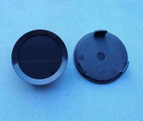 2 PEZZI COPRIMOZZO CERCHI COPERCHIO 74,5 mm 69,0 mm NERO per CERCHI IN LEGA aa01 NS