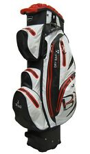 Bennington Cartbag Waterproof QO 14 - Farbe:black/ white/ red, neues Modell!