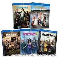Shameless: TV Series Complete Seasons 1 2 3 4 5 Box / BluRay Set(s) NEW!