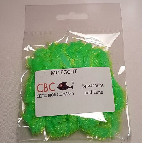 It Spearment /& Lime MC Egg Fly Tying Materials