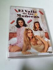 """DVD """"EL VALLE DE LAS MUÑECAS"""" MARK ROBSON BARBARA PARKINS PATTY DUKE PAUL BURKE"""