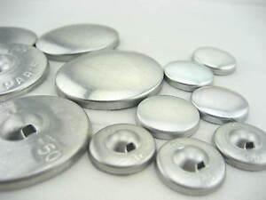 Couverture-large-en-tissu-self-boutons-aluminium-plat-ring-back-DIY-Tissu-bouton
