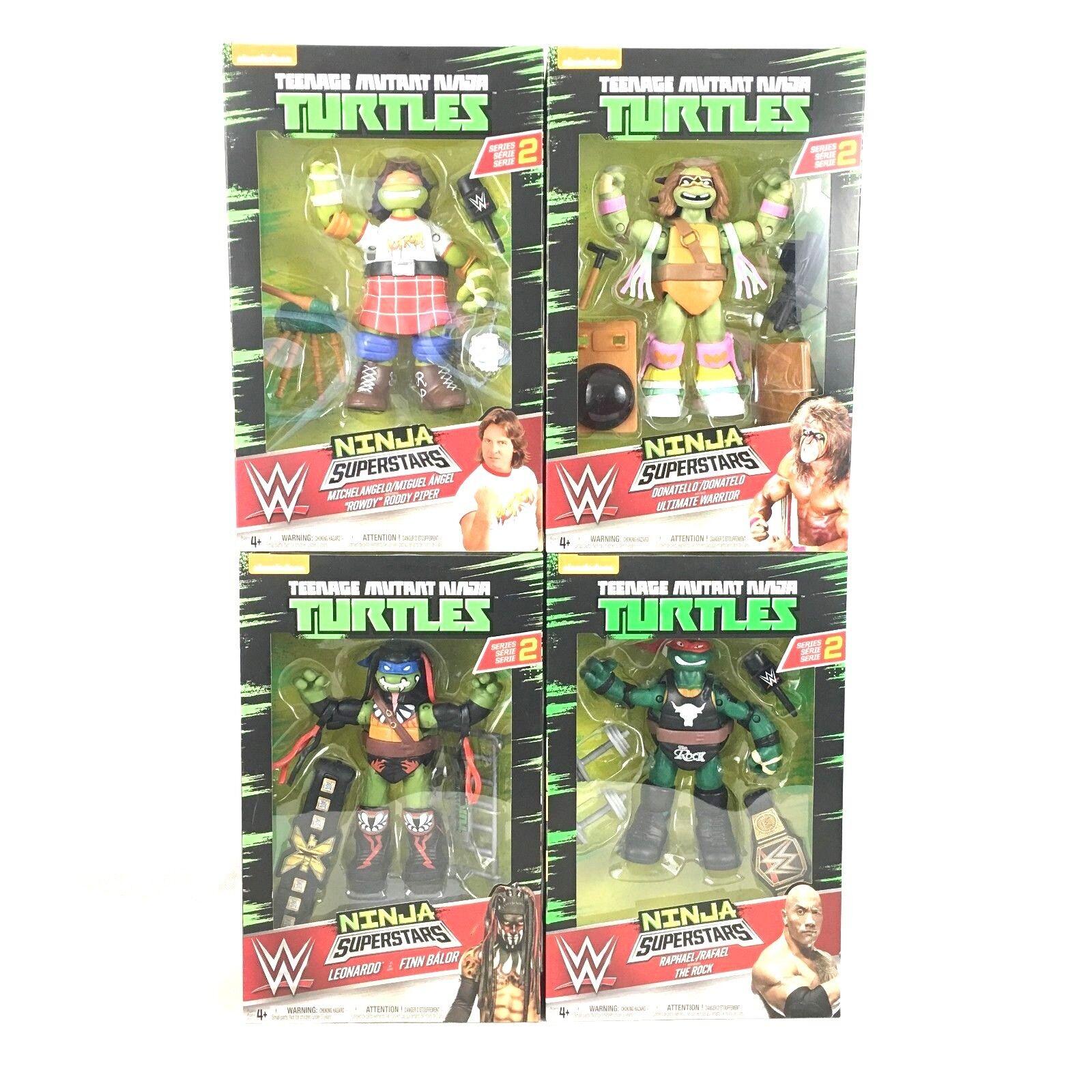 Teenage mutant ninja turtles wir ninja - superstars reihe 2 komplett vom 4.
