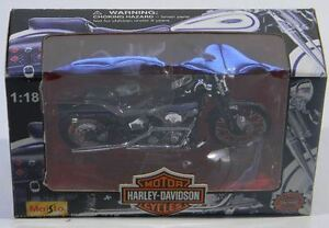 MAISTO FXSTSB BAD BOY Harley-Davidson Motorcycle 1:18