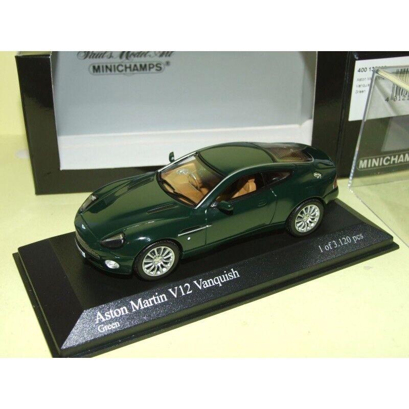 ASTON MARTIN V12 VANQUISH Vert vert MINICHAMPS 1 43