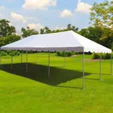 Commercial 20x40u0027 Frame Tent Wedding Event Party Canopy Waterproof White Marquee & 40 x 60 White Canopy Pole Tent Outdoor Party Tent Event Marquee ...