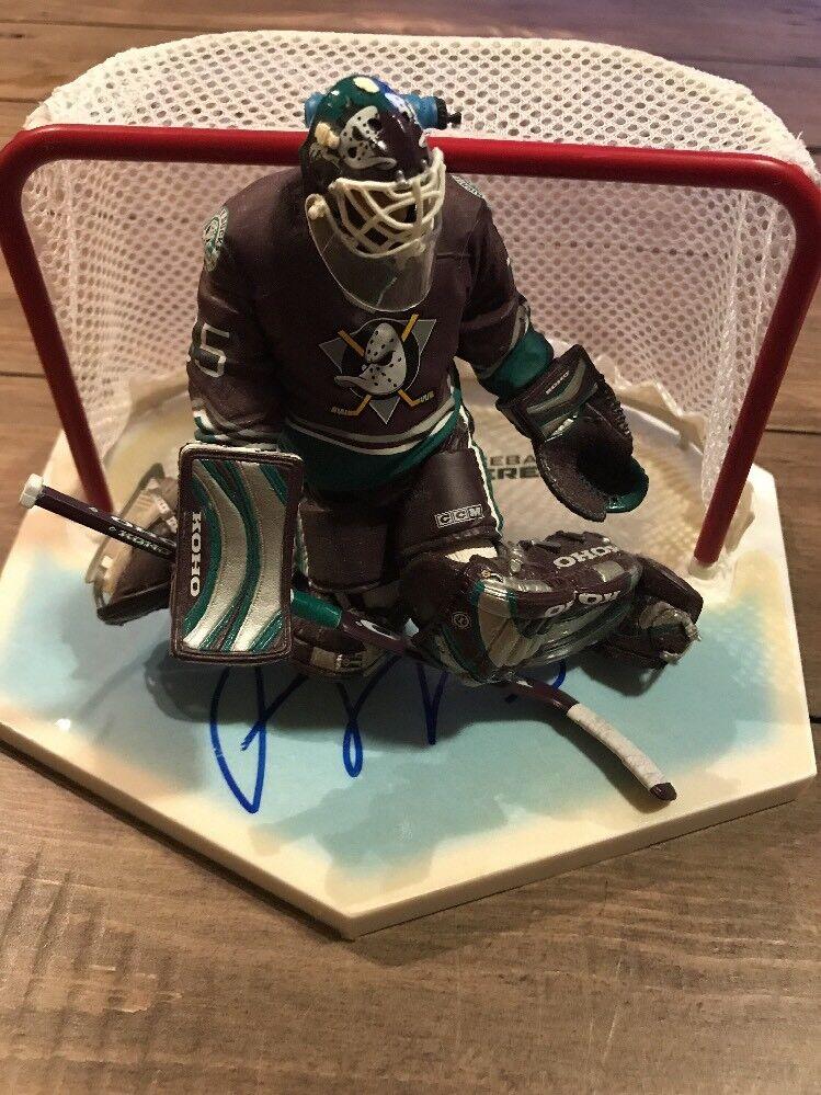 Signed Jean Sebastien Giguere Mcfarlane  NHL  Series 7 Variant Figure Autograph