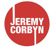Jeremy Corbyn Labour Car sticker UK election 2017 4in