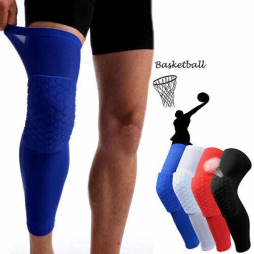 Honeycomb Knee Pad Crashproof Protector Basketball Protective Leg Long Sleeve