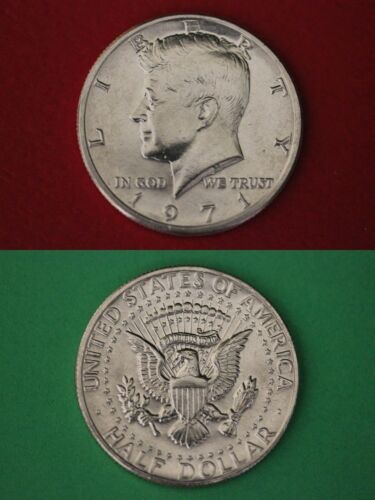 1971 P John Kennedy Half Dollar Uncirculated From Mint Set Combined Shipping