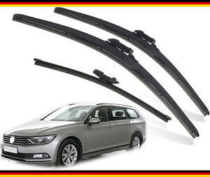 VW-Passat-Estate-2015-2019-Heyner-Alemania-Calidad-Wiper-Blades-26-034-18-034-ST13-034-G-Set
