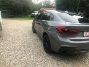 2017 BMW X6 m Sport package with 54,000