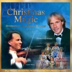 Christmas-Magic-Orchestral-Christmas-Dreams-Richard-Clayderman-Rondo-Ven-CD