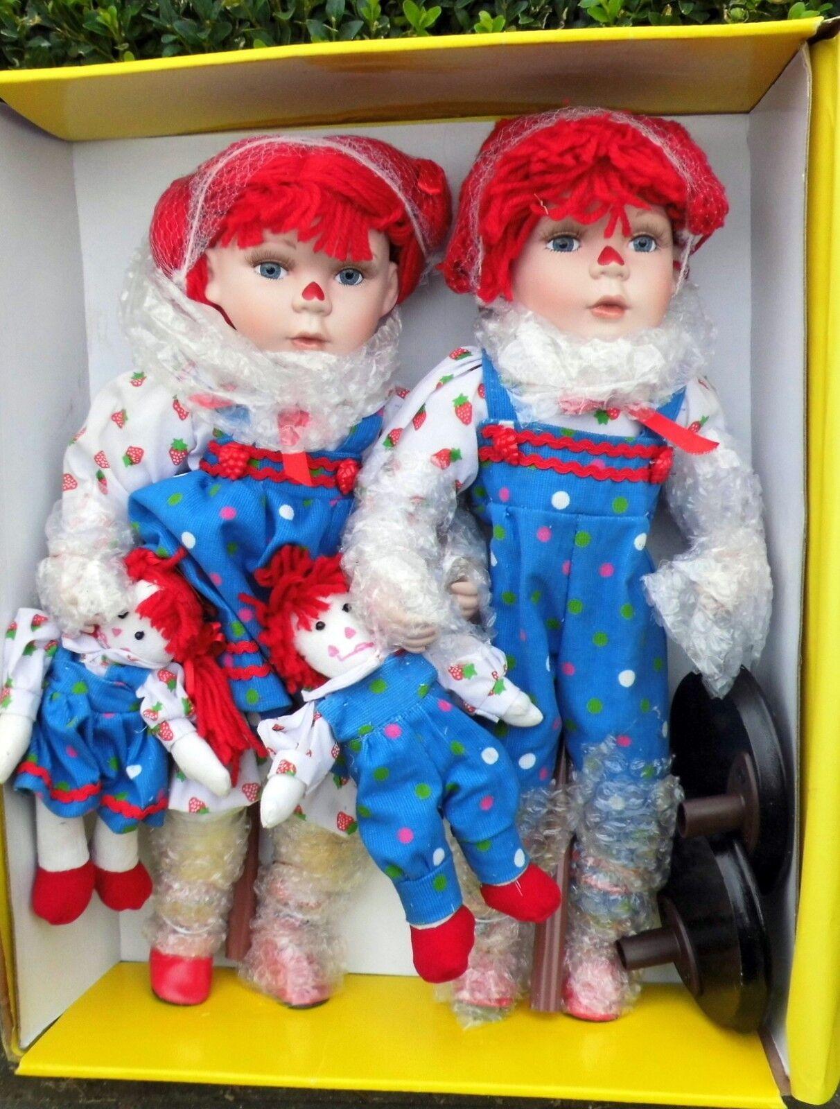 Bruder und Schwester Schwester Schwester - Porzellanpuppen   Künstlerpuppen aus den 90er Jahren 322f06