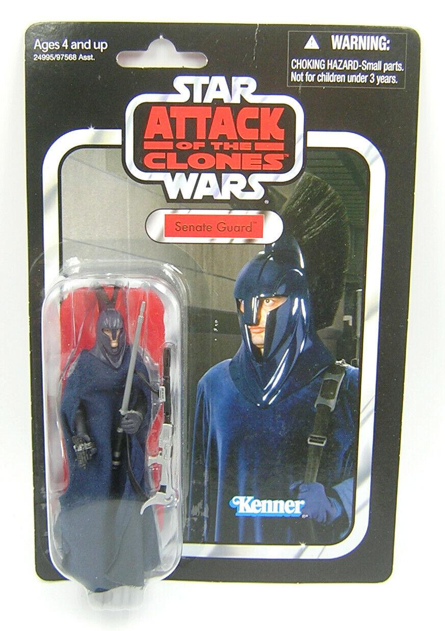 Estrella Wars retro serie vc36, transformación de la guardia real azul