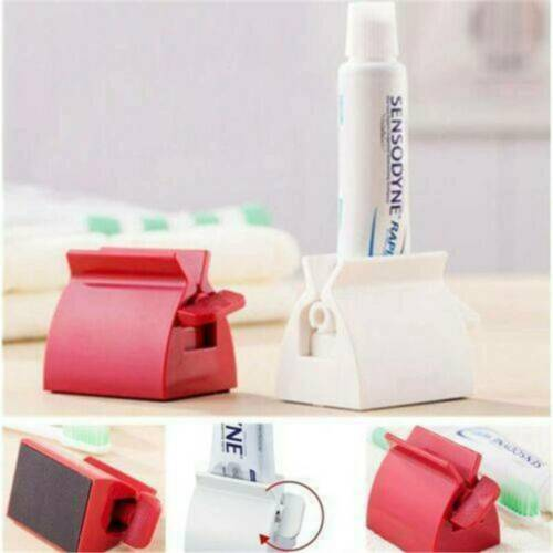Rolling Tube Toothpaste Squeezer Toothpaste Dispenser Seat Holder Stand HOT