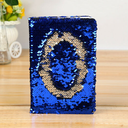 Sequins Diary Notebook Paper Glitter Notepad School Office Supply Stationery New