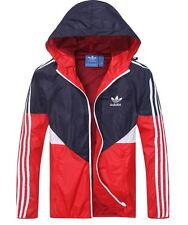 Adidas Outdoor Sportwear Hoodies Wind Breaker Red ,BlackYellow,Blue XS-XL