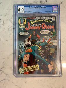 Superman's Pal Jimmy Olsen #134 CGC 4.0 DC Comics 1970 Kirby 1ST APP. DARKSEID