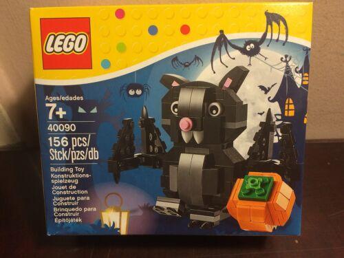 LEGO HALLOWEEN BAT AND PUMPKIN SET 40090 NEW FACTORY SEALED L@@K