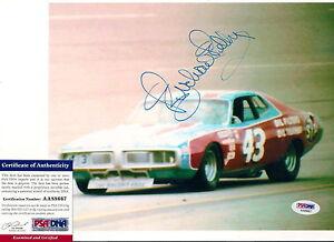 RICHARD PETTY signed RACERS EDGE PSA COA 8x10 HALL OF FAME photo *FREE SHIPPING*
