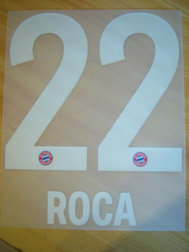 XXXL FC Bayern München orginal Flock Roca 22 Home 2020//21 Gr.164
