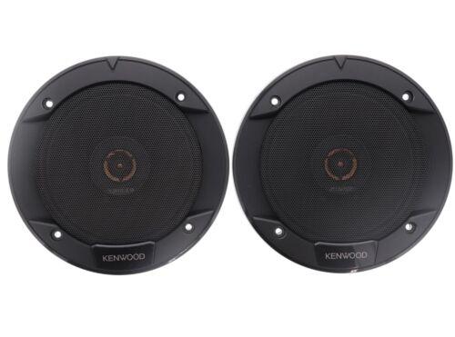 """Road Series 6-1//2/"""" 2-Way Car Speakers Pair Kenwood KFC-1666R Black USED☝"""