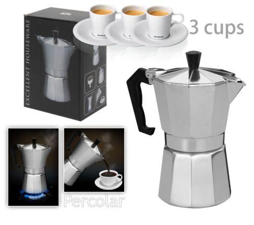 Italienischer Espresso Latte Kaffeebereiter Kaffeemaschine 1 Tasse 3 6