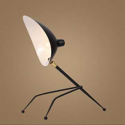 Serge Mouille Postmodern Simple Fangs Claw Duck Mouth Retro Table Lamp LED light