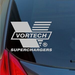 Vortech-Superchargers-vinyl-stickers-decals-muscle-car-hot-rod-Mustang-Camero