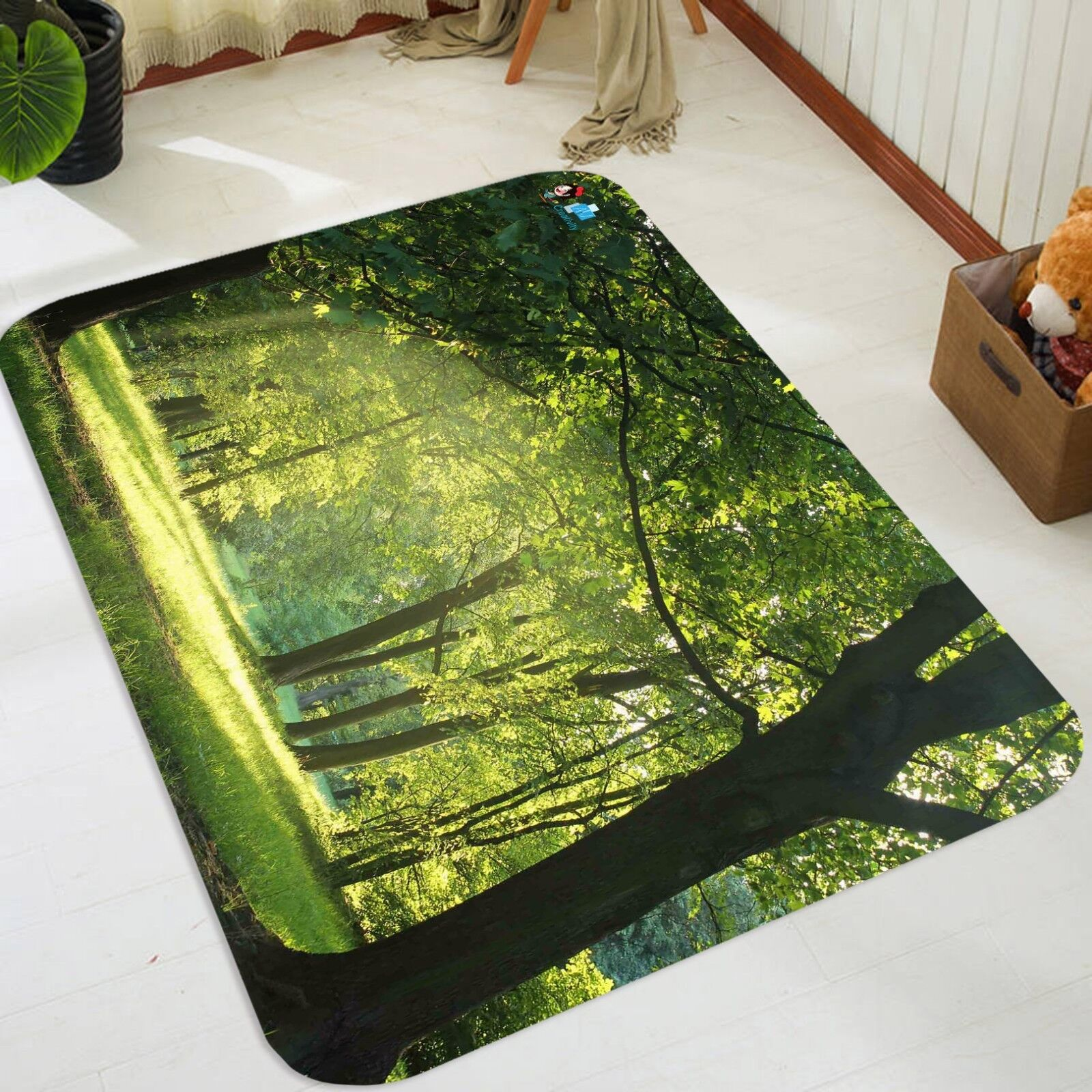 3D Prairie Forest 1066 Étage Étage Étage Antidérapant Natte Élégant Tapis FR Summer c7c883