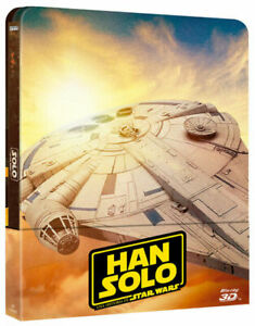 Han Solo: Una Historia de Star Wars (Blu-ray 3D + Blu-ray, 2018, Set de 2 Discos, Edición Steelbook)
