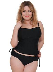 53b421707b Curvy Kate JETTY Balcony Tankini 38E 38DD AND 18 XXL Skirt Bikini ...