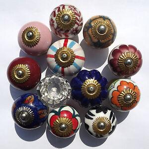 Ceramic-porcelain-cupboard-china-door-knobs-12-types-Glass-doorknobs-and-pulls