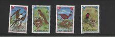 MONTSERRAT EASTER BIRDS 1988 SET OF MINT STAMPS FREE p&p
