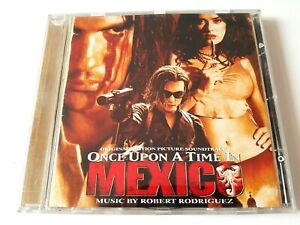 Once Upon a Time In Mexico Original Soundtrack CD 2003 Brand New