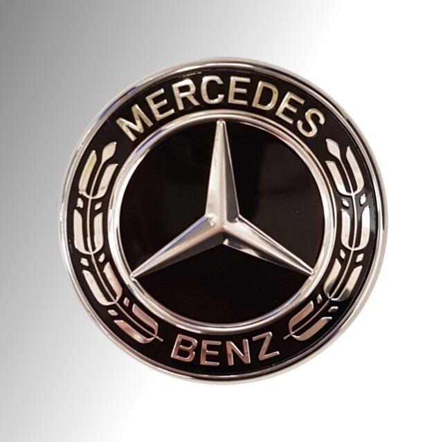 Orig.Mercedes-Benz Emblem Black Edition schwarz f. R230 W245 W169 W463 W166 W253