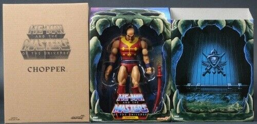 Masters Of The Universe Super7 Chopper (Jitsu) Classics Filmation 2.0 W Mailer