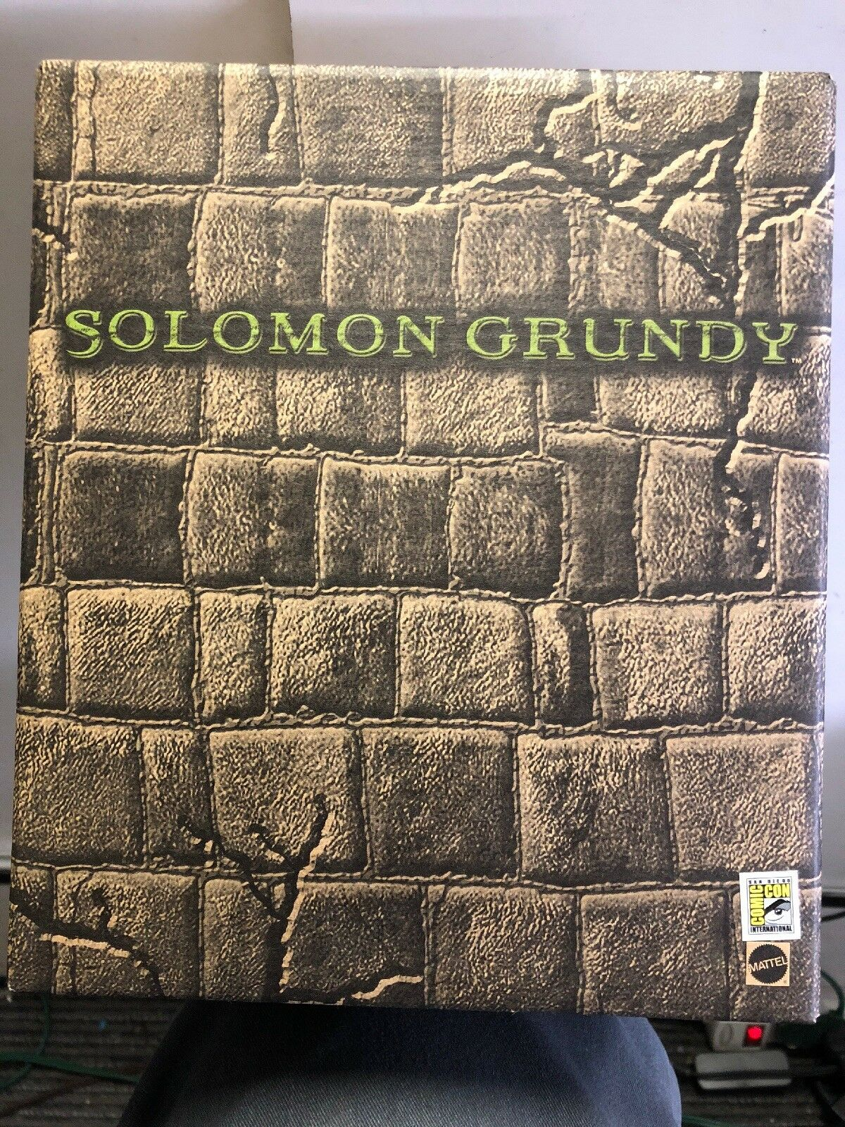 Solomon grundy mattel gerechtigkeitsliga unbegrenzte dc - comic - con in san diego