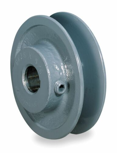 """2.5/"""" X 5//8/"""" Single Groove Fixed Bore /""""A/"""" Pulley # AK25X5//8"""