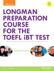 Longman Preparation Course For The Toefl Ibt Test By Deborah