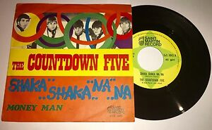 THE-COUNTDOWN-FIVE-034-SHAKA-SHAKA-NA-NA-034-RARE-45-RPM-7-034