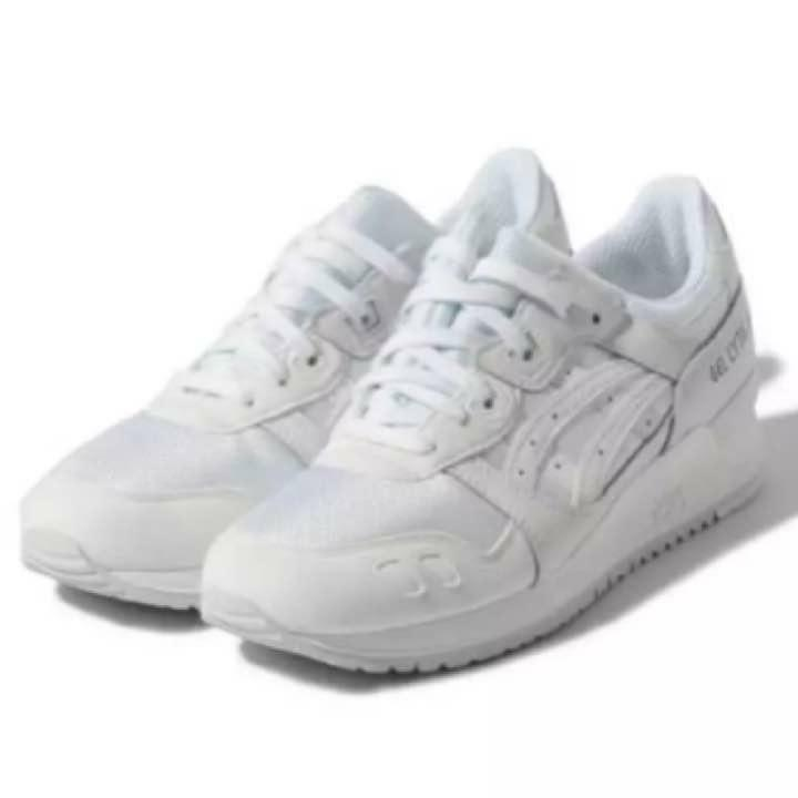 Asics gel lite III all-white 27cm from japan (5963