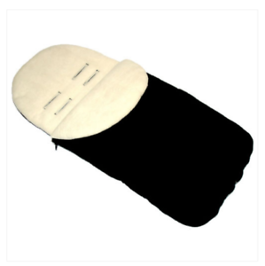 Black//beige universal FOOTMUFF   FIT Uppababy Vista PUSHCHAIR BUGGY