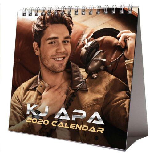 KJ Apa 2020 Desktop Kalender Büro NEU GESCHENK 3 Stück Aufkleber