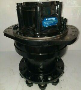 Poclain Hydraulics MSE08-2-G21 Hydraulikmotor Bagger Radmotor NEU/New