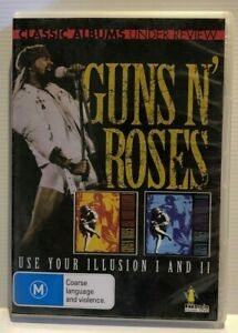 Guns-N-039-Roses-DVD-Free-AusPost-with-Tracking